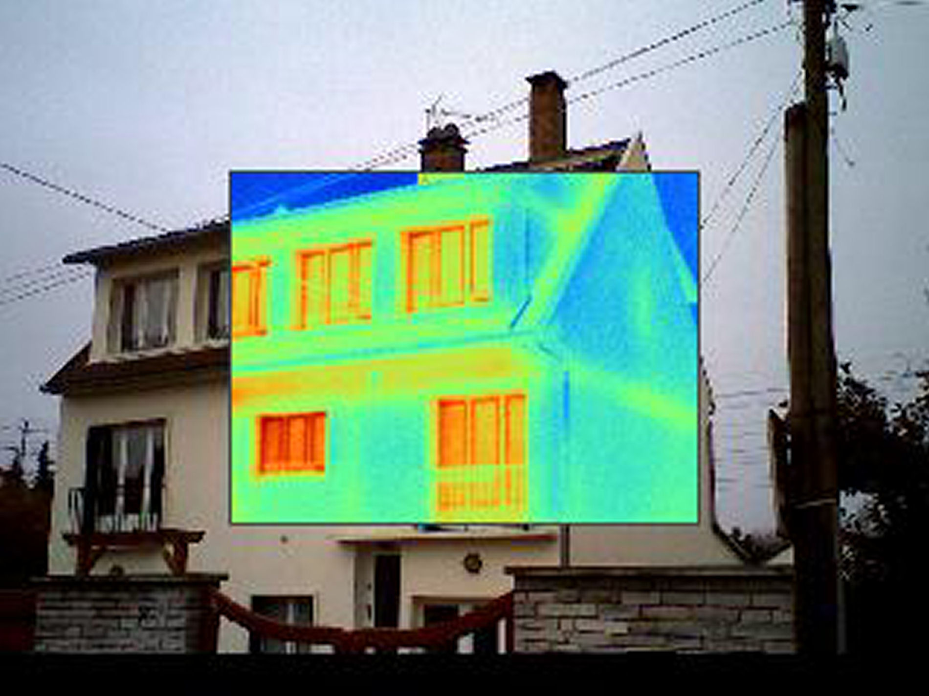 Thermographie Infrarouge Bâtiment individuel